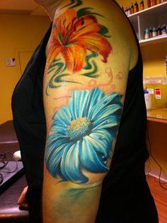 Margfuerit | InkFREAKZ.com Artistic Tattoos, Random Tattoos, Original Tattoos, Any Images, Tattoo Artists, Watercolor Tattoo, Body Art, Ink, Beautiful