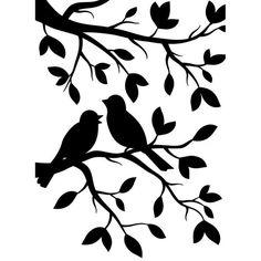 VENTA aves en ramas realzando carpeta 4.25 X5.75 por iluvdesign                                                                                                                                                     Más