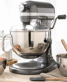 KitchenAid KP26M1X Stand Mixer, 6 Qt. Professional 600 - Mixers - Kitchen - Macy's