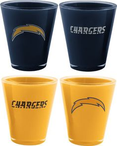 San Diego Chargers Shot Glasses  :)