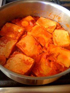 Alessandra Zecchini: Tofu with Smoked Paprika and Pomodorini, vegan and gluten free main