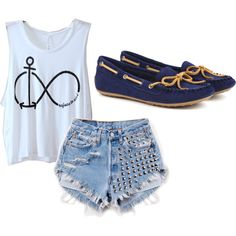 """Refuse to sink."" by graciesuzie on Polyvore"