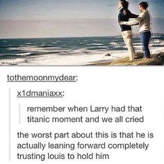 Larry titanic moment
