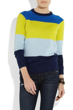 Proenza Schouler Striped sweater | wantering | womens fashion |womens style