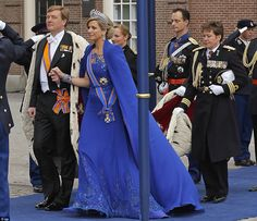 Queen Maxima and King Willem Alexander of Netherlands