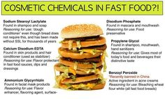 have less fast food