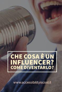 grafica pinterest articolo che cosa è un influencer