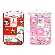 Hello Kitty Hanging Storage Closet Room Wall Door Organizer Bag Pouch Pocket