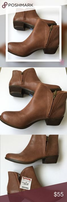 "Selling this LUCKY BRAND Distressed ""Brenon"" Bootie, Toffee on Poshmark! My username is: amore923. #shopmycloset #poshmark #fashion #shopping #style #forsale #Lucky Brand #Shoes"