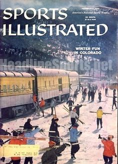 1959 Winter Skiing Holiday Vintage Sports Illustrated . $14.95. Date: 2/9/59 Cover: Skiing Condition: Excellent