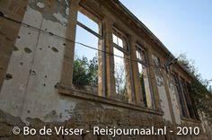 The abandoned streets of Nicosia
