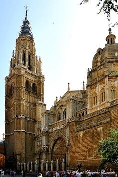 Catedral de Toledo. España. Lugar a visitar desde Villa Nazules www.villanazules.com