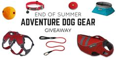 If you love your dog and getting outdoors, then this is the perfect giveaway for you. I've partnered with Ruffwear to giveaway all the same gear I use with my dog Story hiking all over the U.S. Sign up to win a Ruffwear harness, life jacket, collar, leash, collapsible bowl, ball, and frisbee!  (Note: I'll make sure to match everything to the size of your dog, so don't worry about that!)