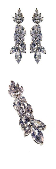 Allure Earrings by Stephanie Browne £148 #wedding #jewellery #bridal