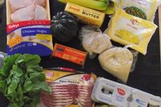 Poor Girl Eats Well: the 25 dollar shopping cart! Eating on a budget! Great for fresh inspiration! College eating here I come! Eat On A Budget, Budget Meals, Budget Recipes, Family Budget, Tight Budget, Eating Well, Clean Eating, Healthy Eating, Cheap Meals