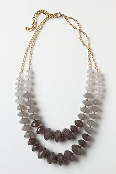 lily mineral necklace. #anthropologie