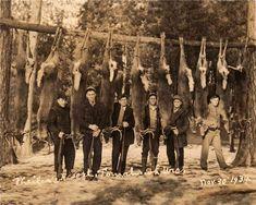 Deer hunt photo 1934
