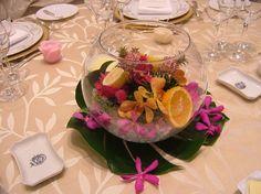 アートグレイス ウエディングシャトーのプランナーブログ「トロピカルな夏を感じるお花を作りました★」 ゼクシィnetで理想の結婚式