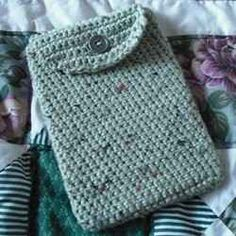 You can crochet an easy Kindle case or cover for any new Kindle Fire HD, any other Kindle device, or any tablet with the free crochet patterns...