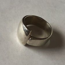 Vintage sterling silver ring, size 9.5 Lot 17