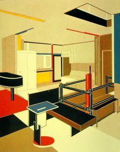 Un Icono del Movimiento Moderno en la Arquitectura. La Casa Schroder del Arquitecto Gerrit Rietveld – 1924