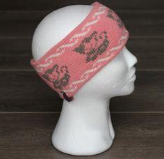 Pannebånd til pynteglade jenter Knitted Hats, Beanie, Knitting Machine, Fashion, Threading, Moda, Fashion Styles, Beanies, Fashion Illustrations