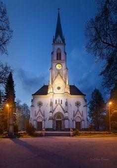 The church of St.Bartholomeus in Kopřivnice (North Moravia), Czechia #churches #architecture #Czechia