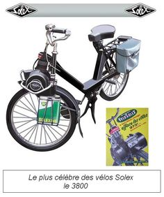 The price of the solex . Moped Motor, Moto Scooter, Funny Motorcycle, Motorised Bike, Push Bikes, Motorized Bicycle, Good Old Times, 50cc, Old Bikes