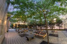 Cheers! Center City's newest beer garden, Uptown Beer Garden, will open for the summer this Wednesday, July 1. (Photo courtesy Brü Craft and Wurst)