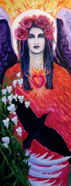 """""""Muse Within"""" 16x36 oil on canvas Kelly Fine Art by #kellythompsonfineart"""