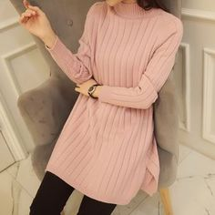 Buy Gemuni Stand Collar Long Sweater at YesStyle.co.uk! Quality products at remarkable prices. FREE SHIPPING to the United Kingdom on orders over £ 25.