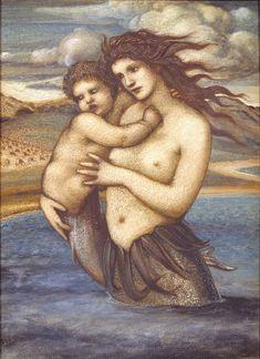 The Mermaid by Edward Burne-Jones