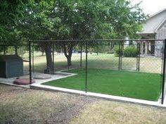 Cleaning Artificial Turf Dog Runs | BioTurf ****would love this for my dogs own little area :)
