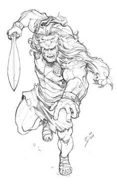 Hercules by Max-Dunbar.deviantart.com on @deviantART