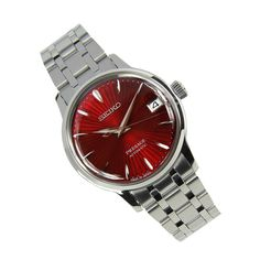 Buying The Right Type Of Mens Watches - Best Fashion Tips Stainless Steel Bracelet, Stainless Steel Case, Seiko Presage, Seiko Automatic, Seiko Watches, Luxury Watches, Bracelet Watch, Jewels, Crystals
