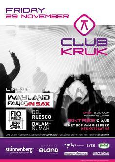 #ibiza goes to #Giesbeek. 29 November @ClubKruk. Be there!!! #housemusic #party. In het Hof van Giesbeek (gemeente #Zevenaar). Vrijdag 11 oktober 2013. via twitter @dj_wayland.