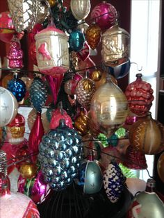 Vintage and Antique Christmas Ornaments