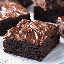 Fudge Brownies: King Arthur Flour. These brownies combine a fudge brownie's ultra-moist texture with a subtle cake-like rise, for the best of both worlds.