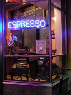"""Espresso"" - Central Square after hours"