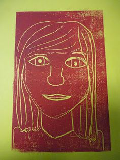 Mrs. Elder's World of Art: 5th grade Pop Art Printed Portraits