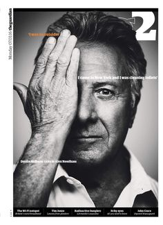 Guardian 2 - magazine cover with Dustin Hoffman