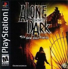 Complete Alone in the Dark The New Nightmare - PS1 Game
