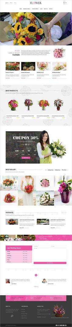 Creative Flower #Woocommerce #WordPress Theme is beautifully design #flower shop, #florist eCommerce websites download now➩ https://themeforest.net/item/creative-flower-woocommerce-wordpress-theme/18705449?ref=Datasata