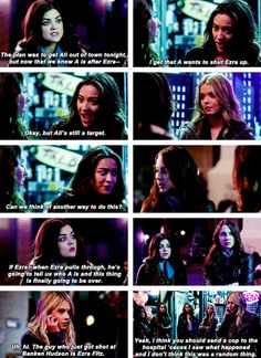 hanna, aria, emily, spencer and alison