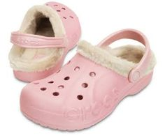 da126baee6c0e Baya Heathered Fuzz-Lined Clog. Crocs With FurLined ...