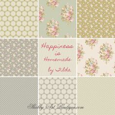 Shabby Art Boutique - Happiness is Homemade by Tilda
