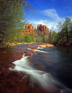 Sedona, Arizona.  Oak Creek Canyon is beautiful.