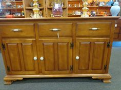 Beautiful #buffet - would be nice to put a flat screen TV on top. #resale