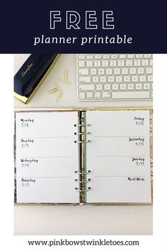 7 Delightful Free Weekly Planner Printable Images Calendar Weekly