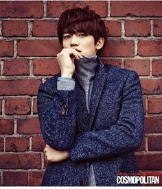 SHINee's Minho is cozy and cute for Cosmopolitan   Carte Blanche's F/W 2014